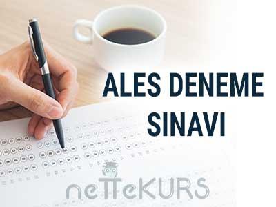 30 Adet Online ALES Deneme Sınavı