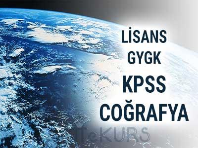 2021 KPSS GYGK Coğrafya Canlı Ders